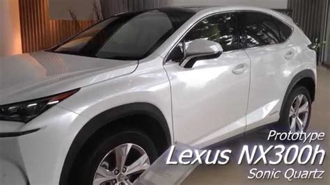 lexus nx  sonic quartz youtube