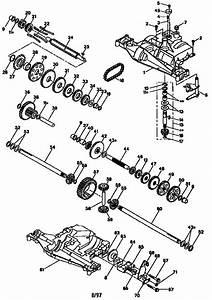 917 259565 Craftsman Garden Tractor Lawn Mower