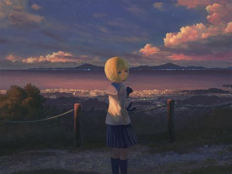 You can do this by following a simple process: Anime Girl Alone Standing Wallpaper, HD Anime 4K Wallpapers, Images, Photos and Background