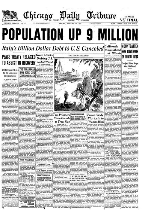 How world newspapers reported India's independence in 1947 ...