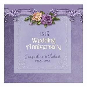 500 15th wedding anniversary invitations 15th wedding With 15th wedding anniversary gifts