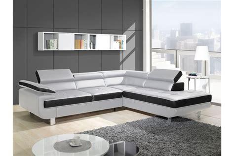 meuble ancien cuisine canapé design d 39 angle studio cuir pu noir canapés d