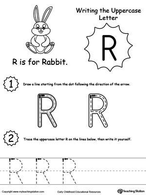 Preschool Alphabet Printable Worksheets Myteachingstationcom