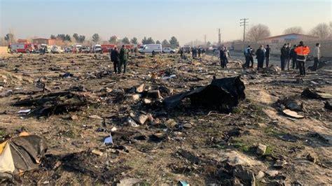 direct crash dun boeing ukrainien en iran teheran