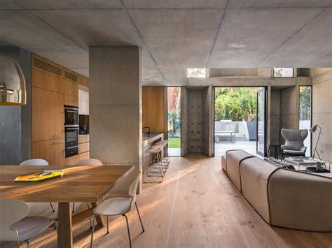 Loft Der Moderne Lebensstilschlafbereich Als Zweites Niveau Im Loft by Beton Und Holz In Perfekter Verbindung Ein Betonhaus In