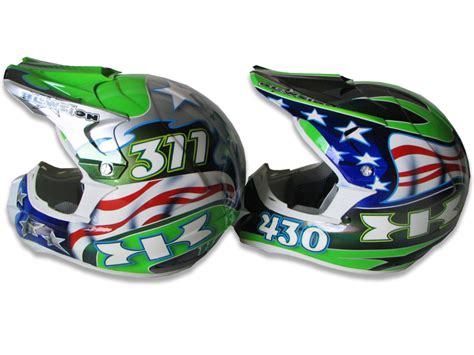 personalized motocross gear blowsion blowsion custom painted motocross helmets