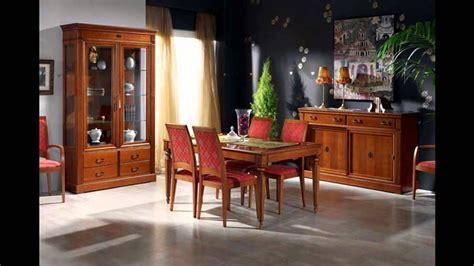 muebles nogal  caoba comedores clasicos youtube