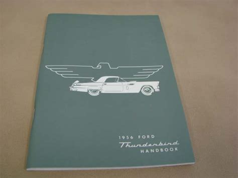 tlt om owners manual   ford thunderbird tltom