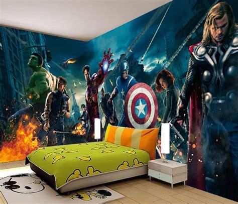Marvel Wall Decor by Marvel Heros Iron 3d Wall Mural Photo