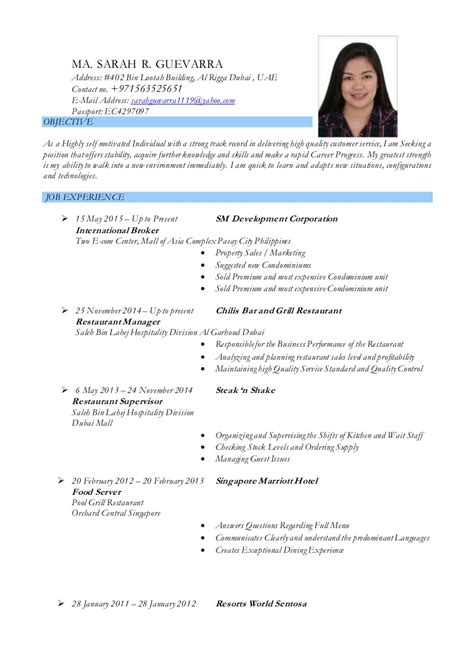 14923 objective in resume for ojt ma guevarra resume qa autosaved copy