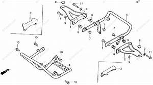 Honda Atv 1986 Oem Parts Diagram For Carrier