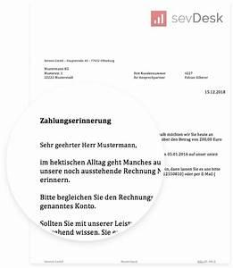 Formulierung Rechnung : zahlungserinnerung vorlage muster zum gratis download ~ Themetempest.com Abrechnung