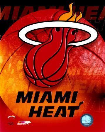 miami heat team logo photo  allposterscom