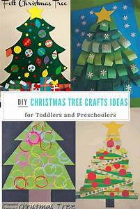 Christmas, Tree, Crafts, Ideas, For, Toddlers, And, Preschoolers