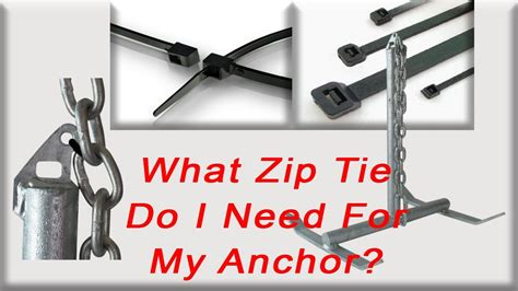 Boat Anchor Breakaway by What Zip Tie Do I Need To For My Boat Anchor