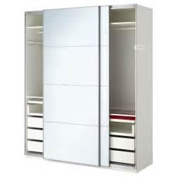 Porte Coulissante Armoire Pax Ikea by Pax Wardrobe White Auli Mirror Glass 200x66x236 Cm Ikea