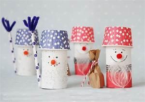 Basteln Winter Kindergarten : weihnachtsmann aus toilettenpapierrolle basteln mit kindern winter kindergarten and snowman ~ Eleganceandgraceweddings.com Haus und Dekorationen