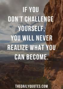 Challenge Yourself Daily Quotes
