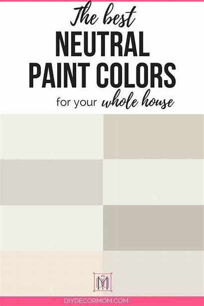 Neutral Paint Colors Living Whole Gray Diydecormom