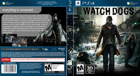 Watch Dogs Playstation 4 Box Art Cover By 1703joe