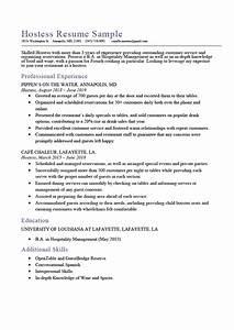 Free Resume Advice Hostess Resume Sample Expert Writing Tips Resume Genius