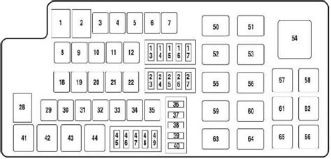 Ford Taurus Fuse Box Wiring Diagram For Free