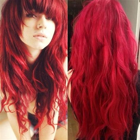 65 Best Images About Redandpink Ombre Hair Styles