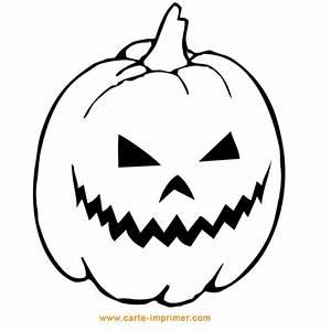 Citrouille Halloween Dessin : coloriage citrouille halloween en papier dessin gratuit ~ Melissatoandfro.com Idées de Décoration