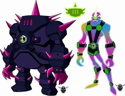 Ben Deviantart Biomnitrix Unleashed Chrome Fusion Alien