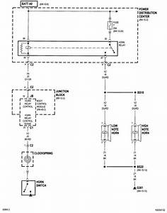 Image Result For Horn Circuit For 2005 Chrysler Town And