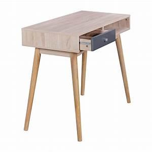 Design Pc Tisch : finebuy schreibtisch 90 x 78 x 45 cm mit schublade in sonoma eiche computertisch im modernen ~ Frokenaadalensverden.com Haus und Dekorationen