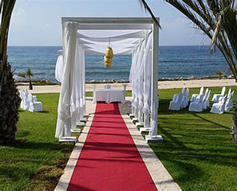 weddings  king evelthon beach hotel  resort  cyprus