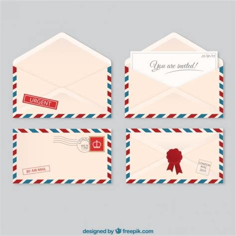 c6 envelope template ai air mail envelopes vector free download