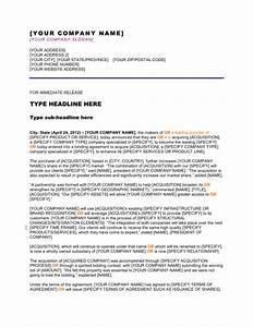 Press release company has completed an acquisition for Acquisition press release template