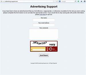 Advertising-support Com Redirect