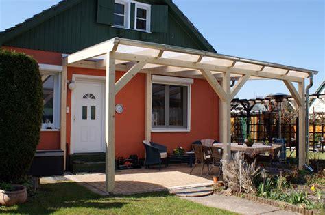 Terrassenüberdachung Aus Holz, Glas, Leimholz & Alu Bauen