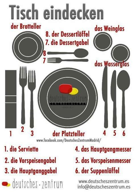 richtig tisch decken es hei 223 t richtig den tisch decken german learn german and german