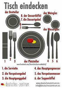 Richtig Tisch Decken : es hei t richtig den tisch decken deutsch pinterest german learn german and german ~ Orissabook.com Haus und Dekorationen
