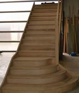 Marche Bois Escalier : escaliers en bois sur mesure ~ Premium-room.com Idées de Décoration