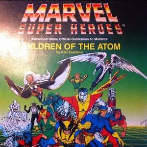 1986 - Tsr Marvel Super Heroes Rpg