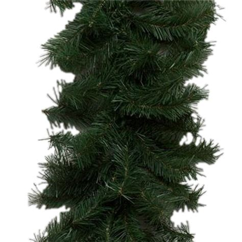 shop vickerman 9 ft indoor outdoor canadian pine artificial christmas garland unlit at lowes com