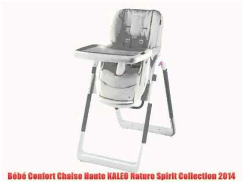 chaise haute omega bébé confort bébé confort chaise haute kaleo nature spirit collection