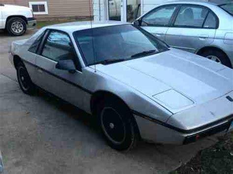 Purchase Used 1986 Pontiac Fiero Sport Coupe 2 Door New