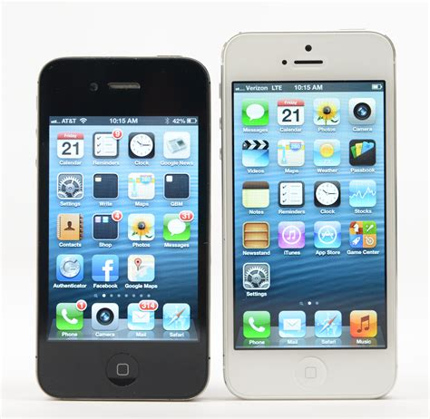 iphone 5s screen size iphone 5s retina would pave way for larger iphone 6 display