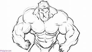 Muscular Body Drawing At Getdrawings