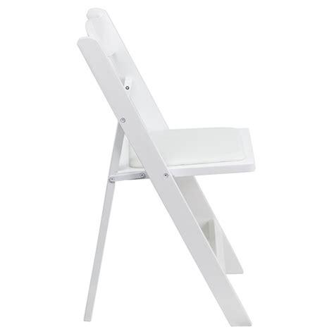 firmfold wood folding chair w vinyl padded seat 1000