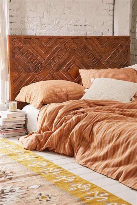 amira carved wood headboard wood headboard trendy