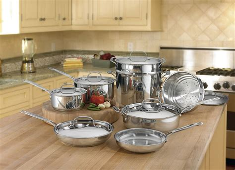 top  stainless steel cookware sets ebay