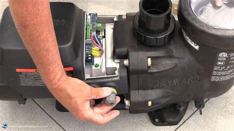 How Install Hayward Ecostar Variable Speed Pump Youtube