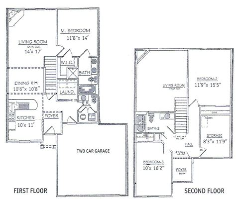 bedrooms floor plans  story bdrm basement    bedroom  story townhome